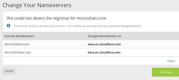 国外免费CDN加速及防护:CloudFlare注册使用教程 主机 网站安全 网站运营 站长 建站教程 第5张